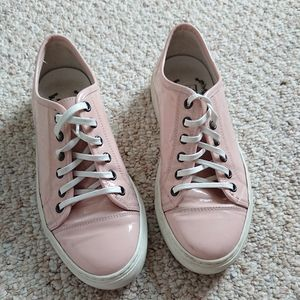 Del Toro Italy patent leather pink Sneaker